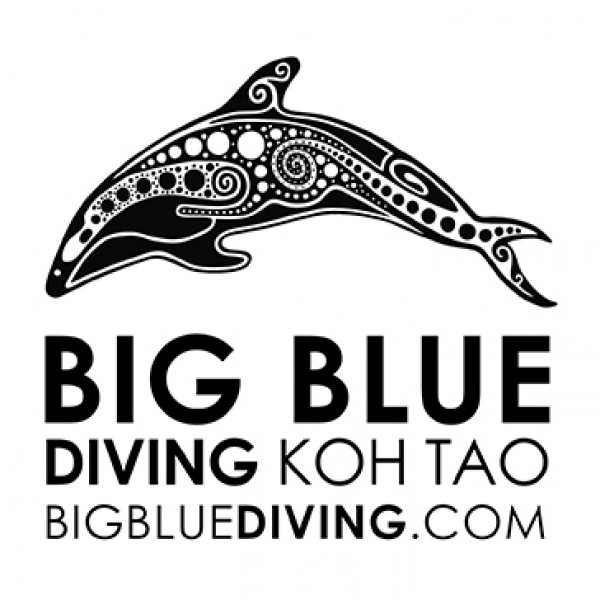 Big Blue Diving, Koh Tao logo