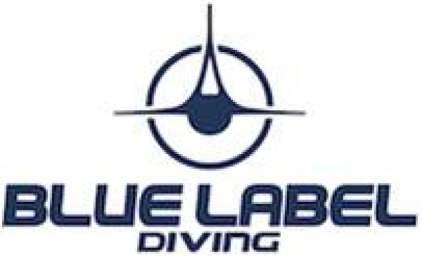 Blue Label Diving logo